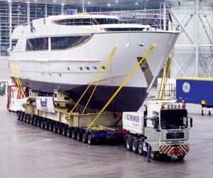 Перевозка длинномерных грузов в прицепе