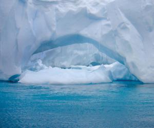Тест прицепов на Северном Ледовитом океане